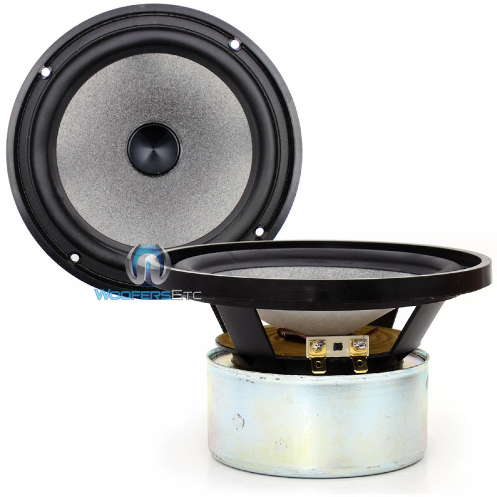 "Utopia 6WB - Focal Utopia 6.5"" Shielded ""W"" Cone Midbass Speakers PAIR"