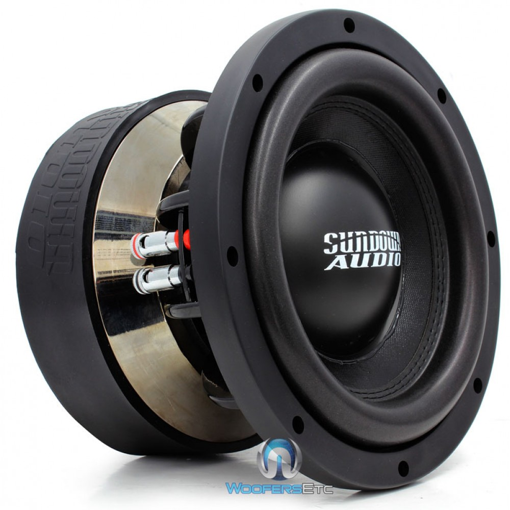 "Z-10 V.3 D1 - Sundown Audio 10"" 1500 Watt RMS Dual 1-Ohm Subwoofer"
