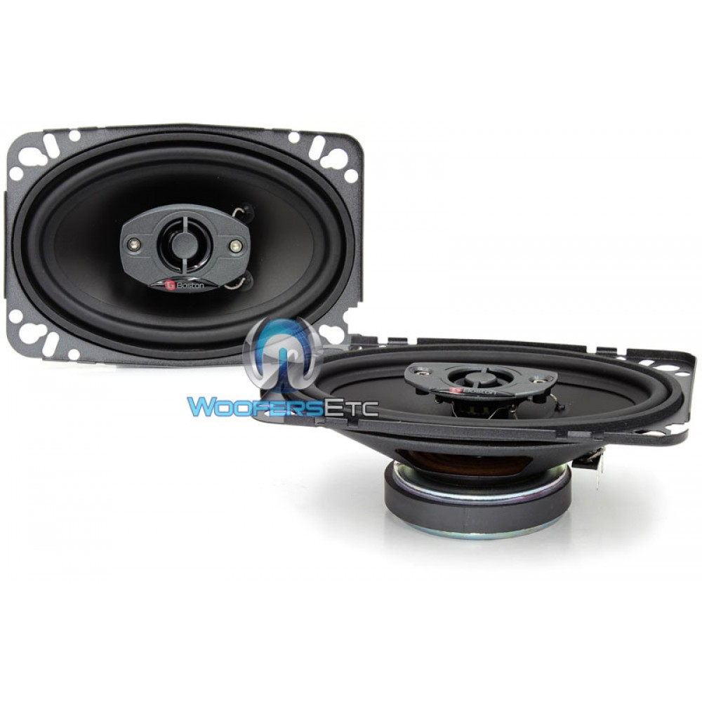 "SE75 - Boston Acoustics 4"" X 6"" 2-Way Coaxial Speakers"