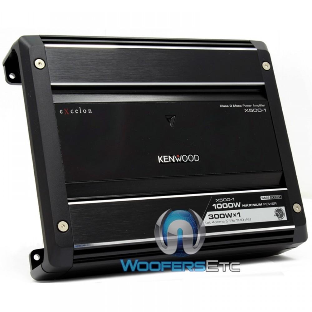 X500-1 - Kenwood Excelon 500W Monoblock amplifier
