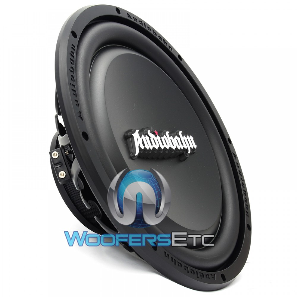 Amw120h Audiobahn 12 Dual 4 Ohm Murdered Out Series Subwoofers Subwoofer Wiring Diagram