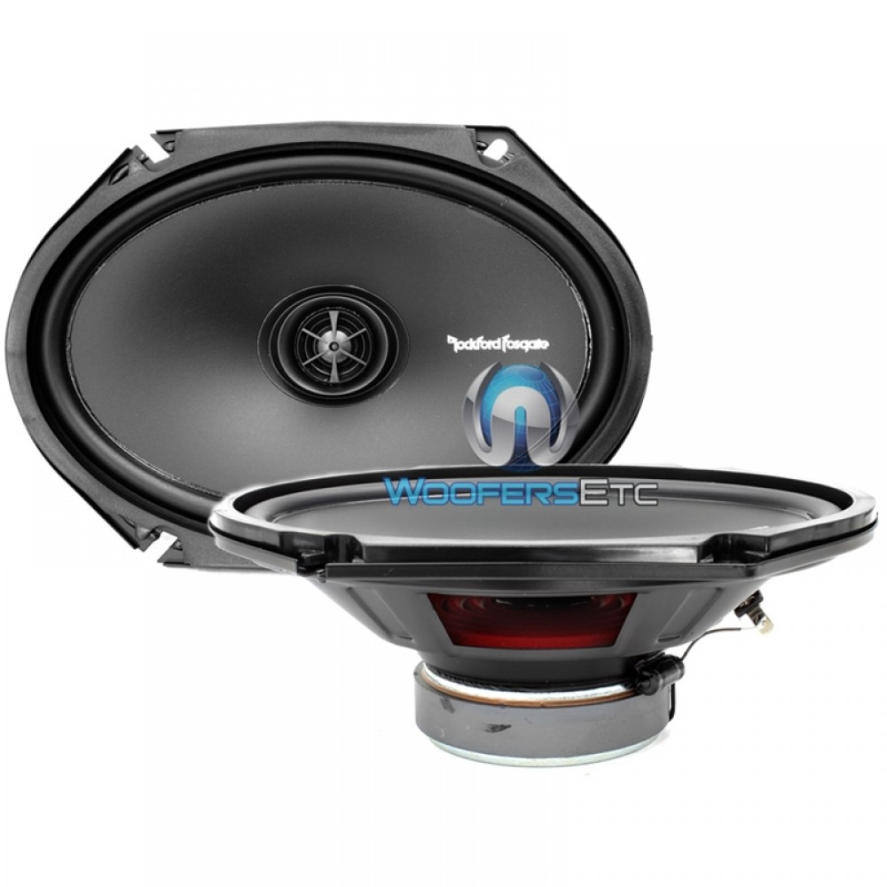 "R168X2 - Rockford Fosgate 6x8"" 2-Way Coaxial Speakers"