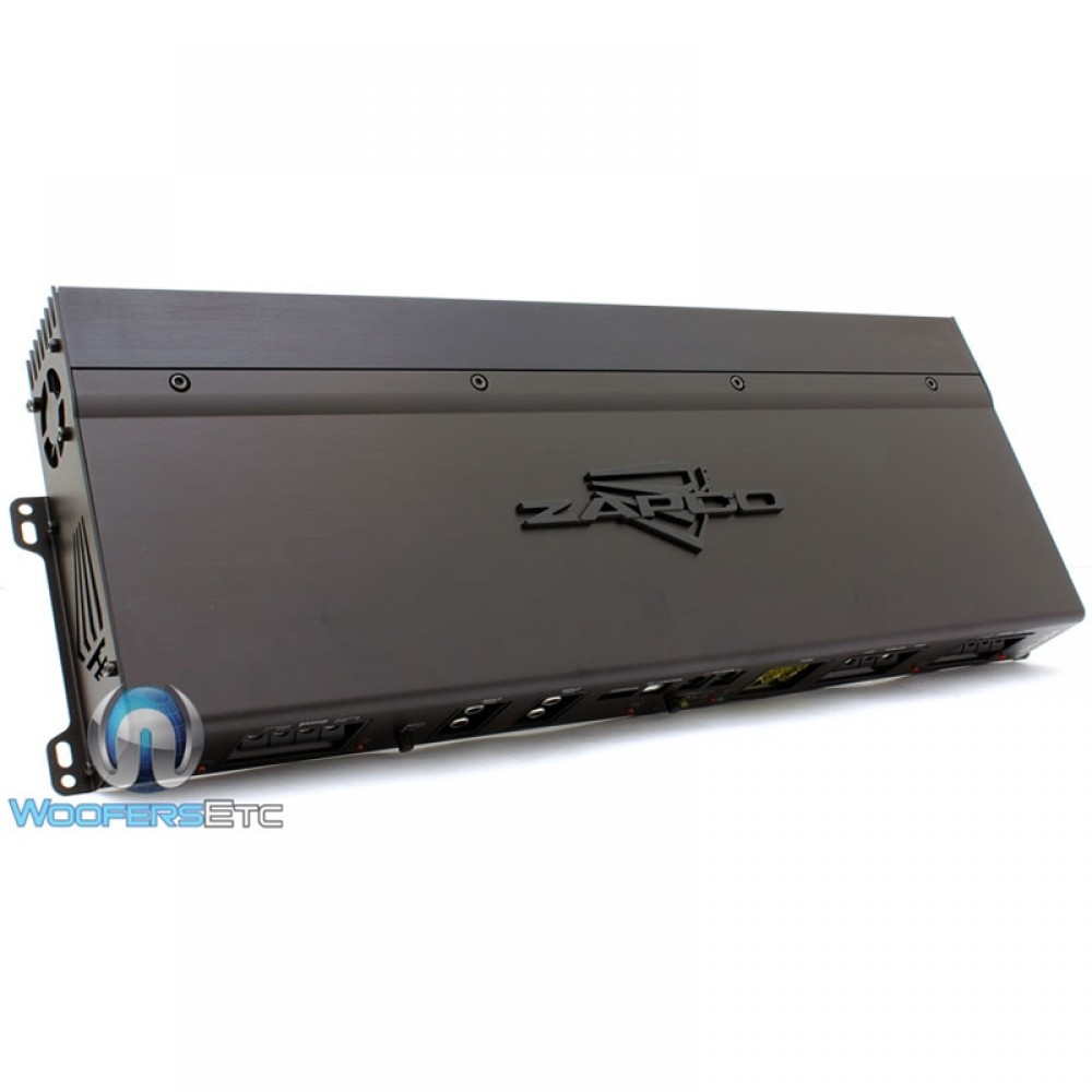 DC-364 - Zapco 4-Channel Class A/B Full Range Amplifier
