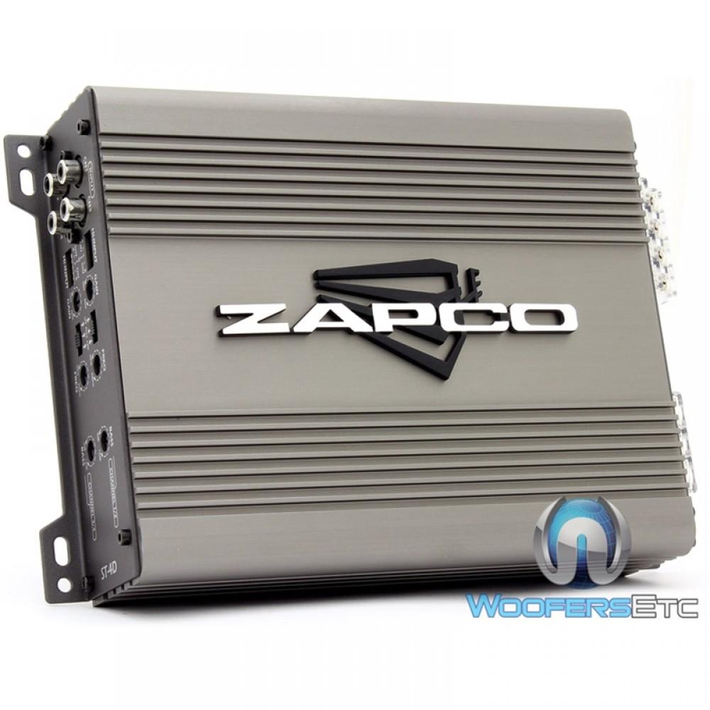 ST-4D - Zapco 4-Channel 640W RMS Class D Full Range Amplifier
