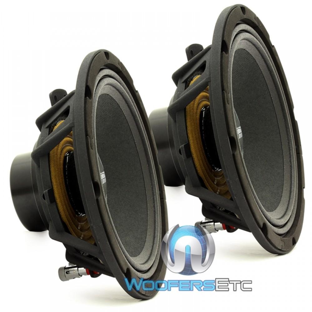 "Sundown Audio NEO PRO 8 V2 8"" 200 Watt 4-Ohm Midrange Speakers (Pair)"