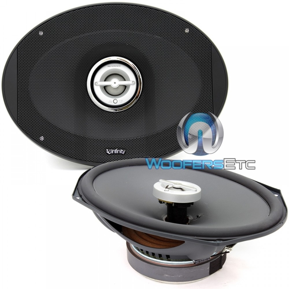 """REF-9602ix - Infinity 6"""" x 9"""" 200W RMS 2-Way Reference X Series Coaxial Speakers"""