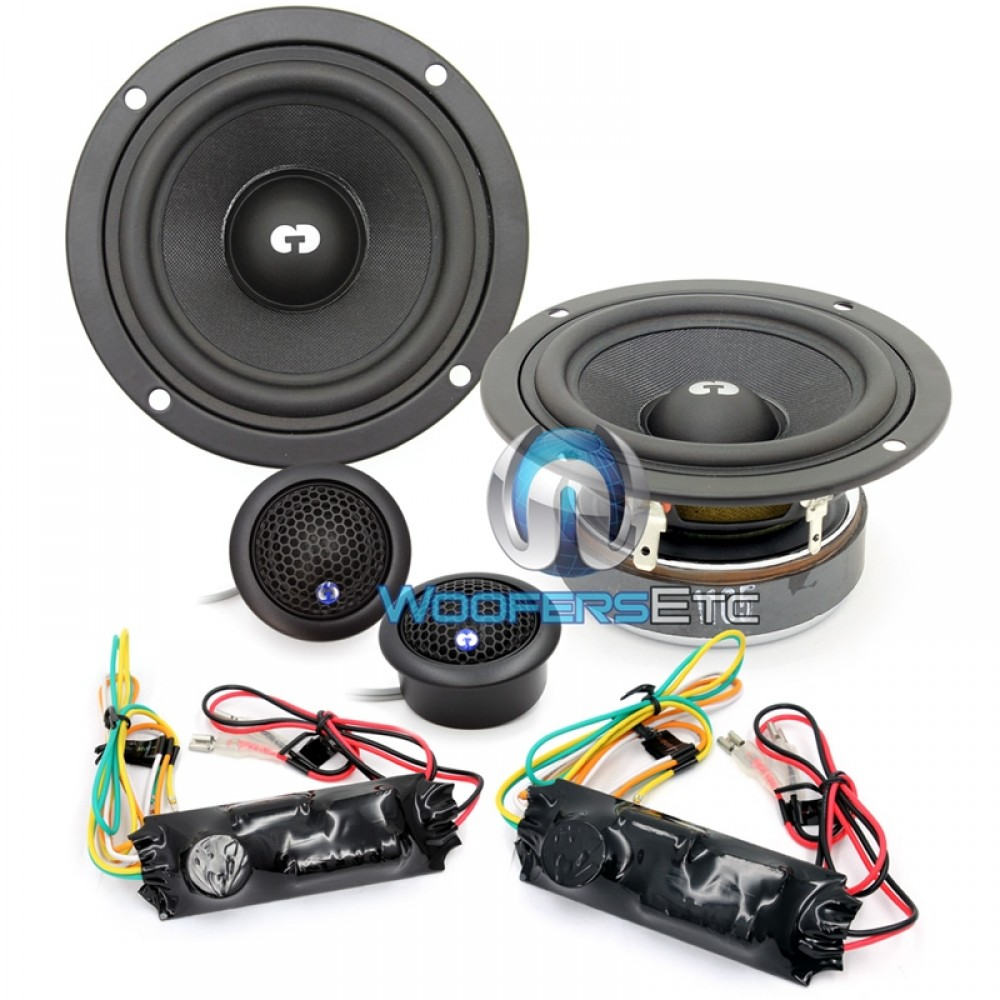 """HD-320 - CDT Audio 3"""" 100W RMS 2-Way Component Speakers System"""