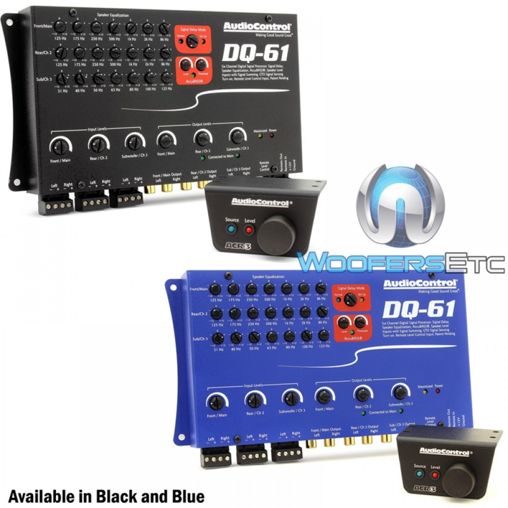 DQ-61 - AudioControl 6-Channel Factory Sound Processor with EQ and Signal Delay