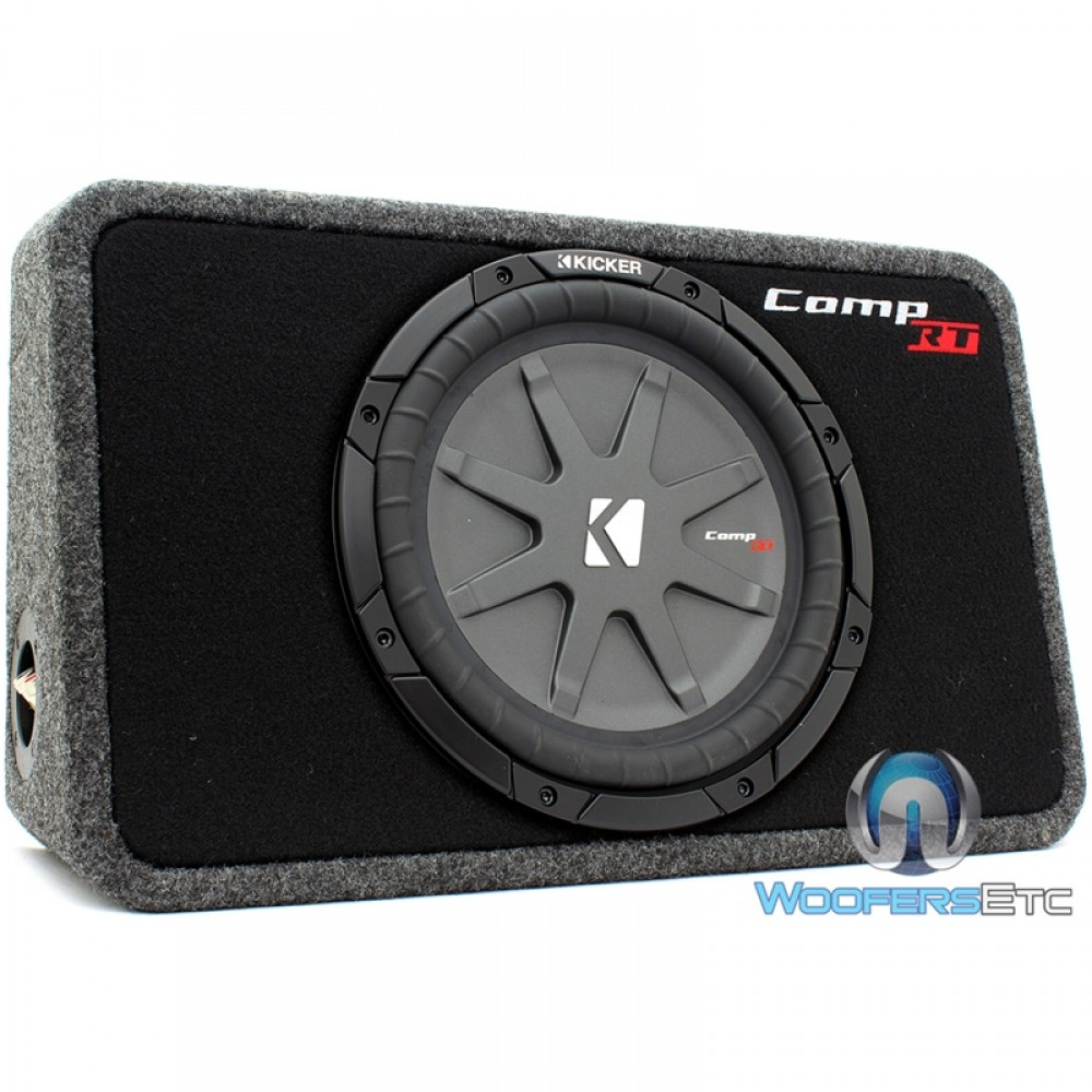 40tcwrt104 Kicker 10 Quot 600w Rms Comp Rt Loaded Shallow