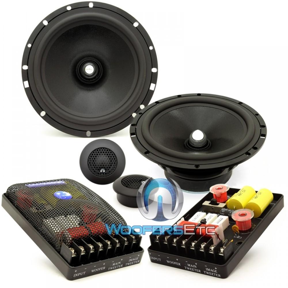 "Hybrid-65 - CDT Audio 6.5"" 4-Ohm 2-Way Component Speakers System"