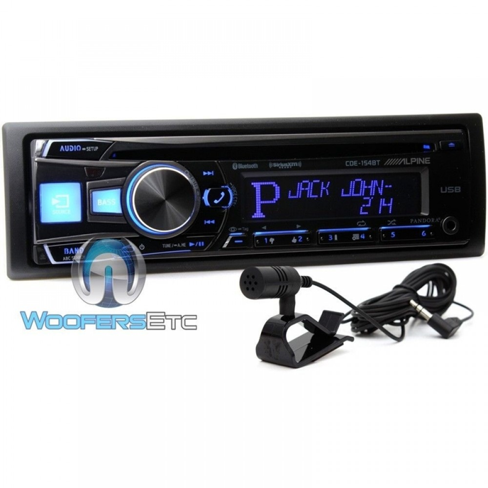Alpine In-Dash 1-DIN CD/MP3 Receiver With