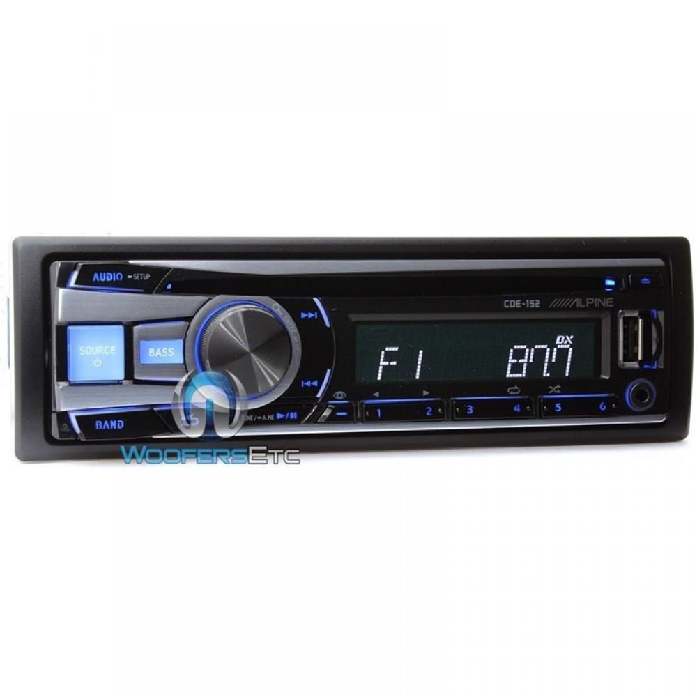 Alpine In-Dash 1-DIN CD/MP3/USB Stereo Receiver