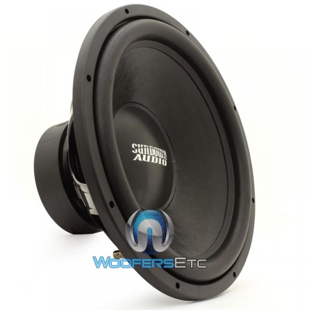 "Sundown Audio E-15 V2 D2 15"" 500W RMS Dual 2-Ohm E Series Subwoofer"