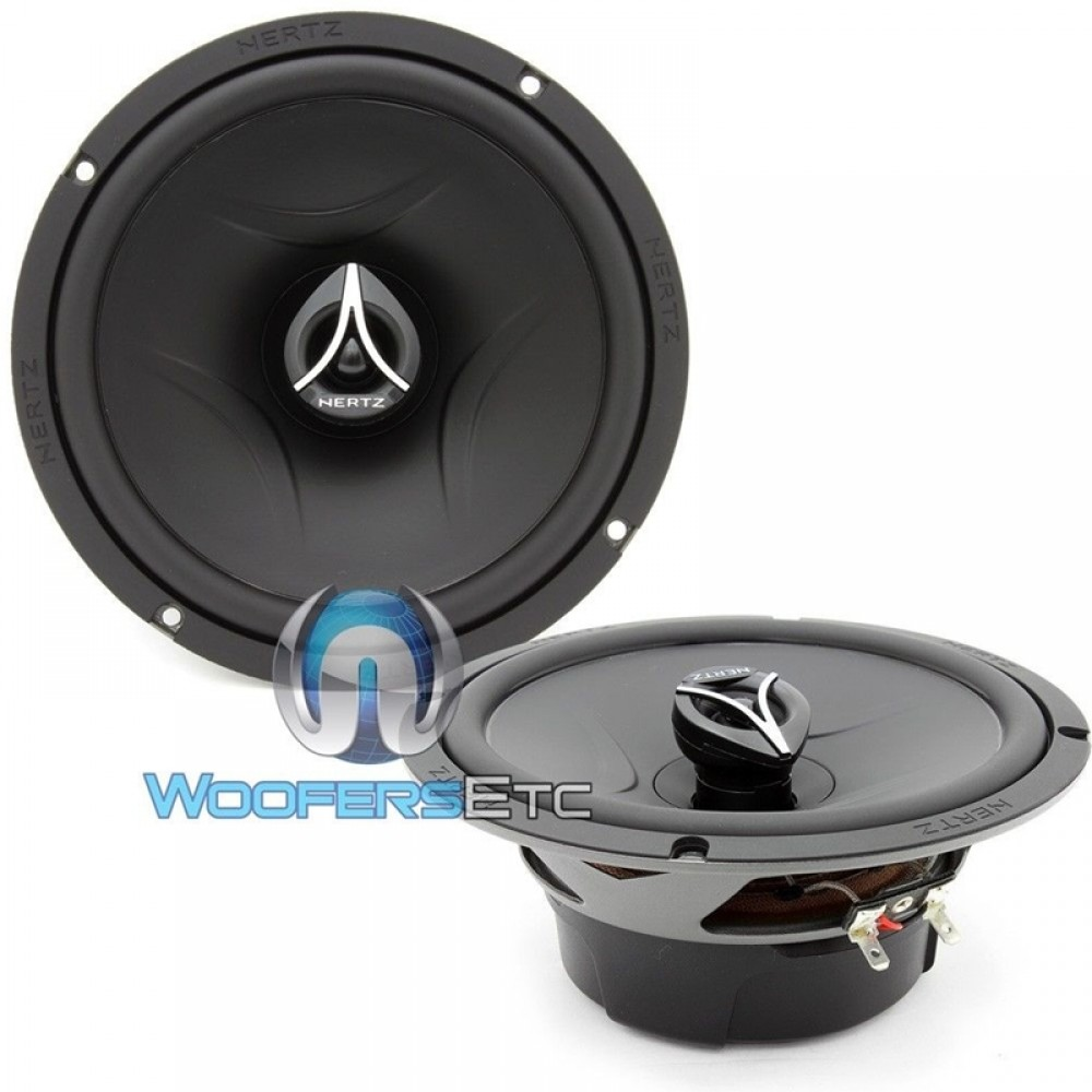 "ECX-165.5 - Hertz 6.5"" 210W 2-Way Coaxial Speakers"