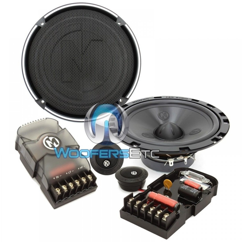 "15-PRX6C - Memphis 6.5"" 50W RMS 2-Way Component Speakers System"