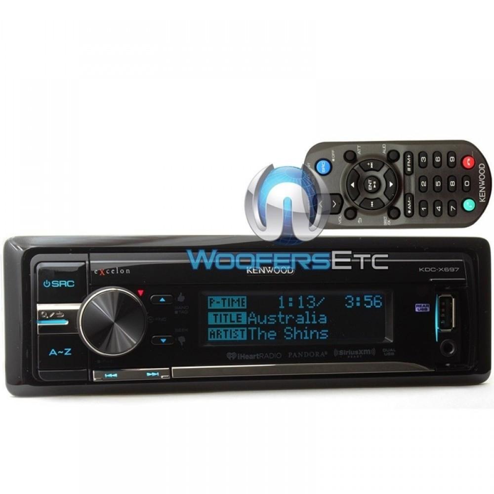 Kdc-x697  Mp3 Stereo Receiver