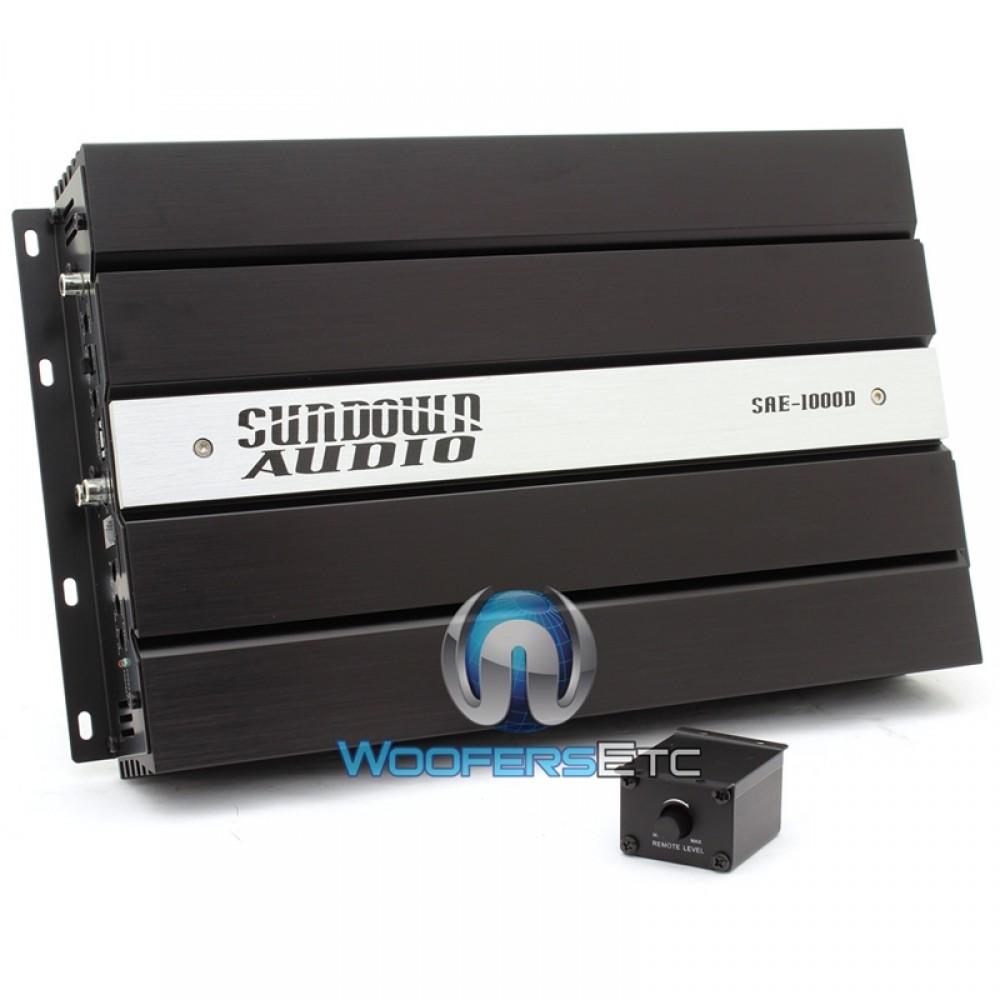 Sundown Audio SAE-1000D v2 Monoblock 1000W RMS Digital Class D Amplifier