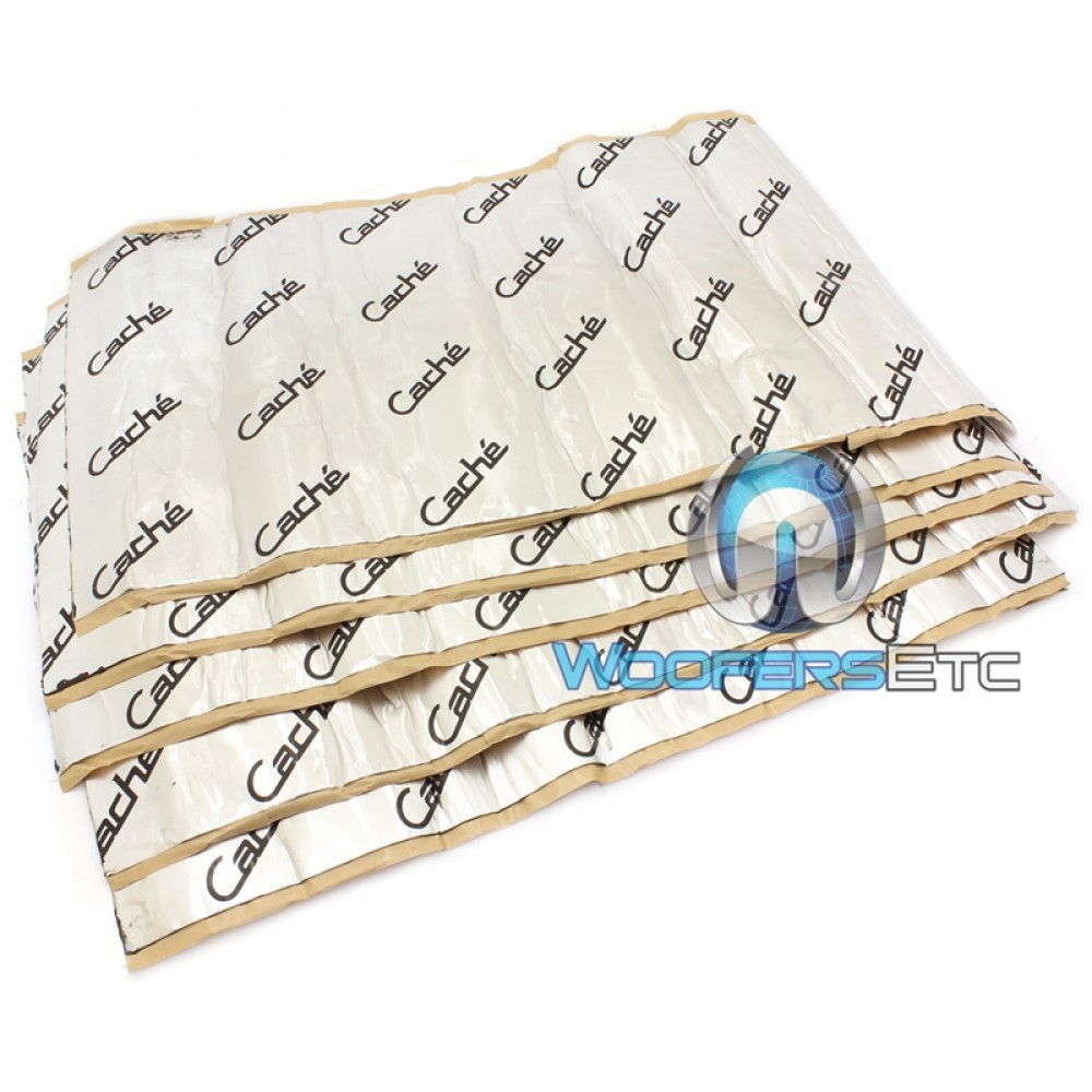 """CTM - Cache 20 Sq. Ft. 5pcs 18"""" x 32"""" Dead Shield Sound Dampening Material"""