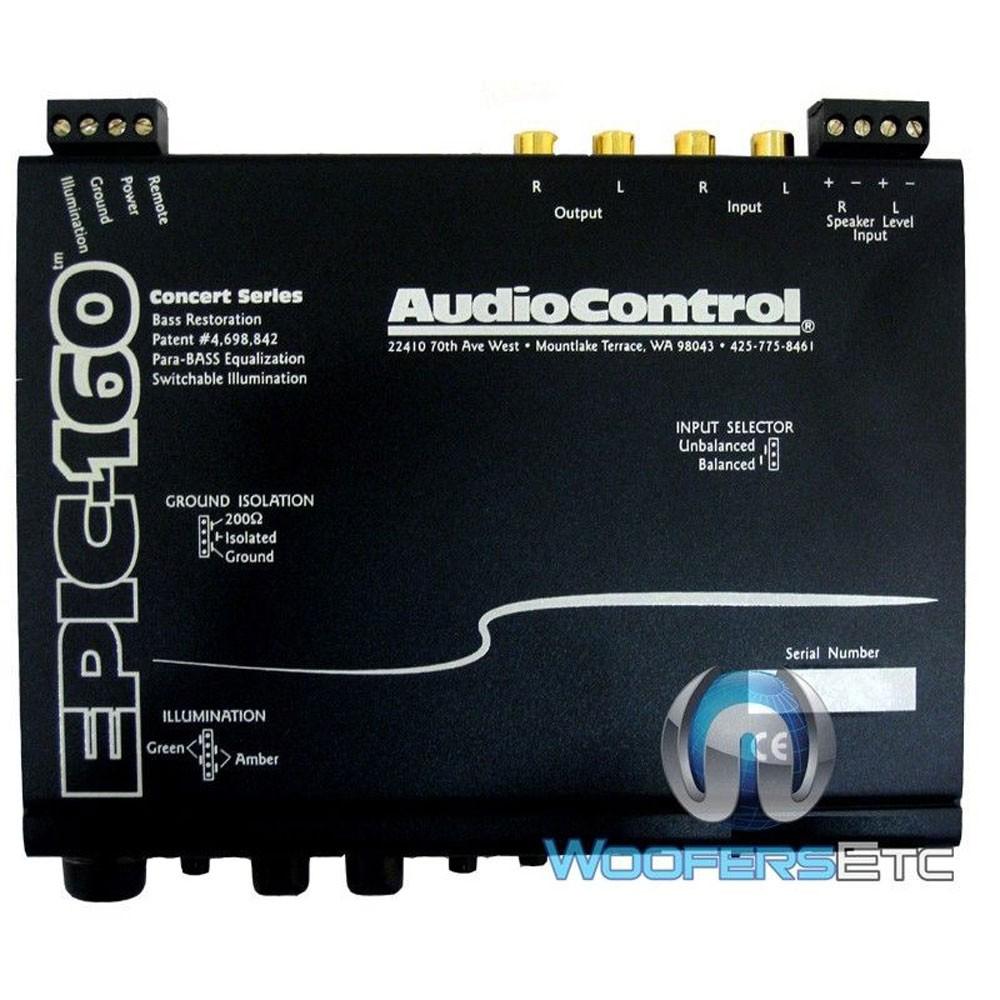 EPIC-160 - AudioControl In Dash Bass Maximizer W/ 160dB SPL Display