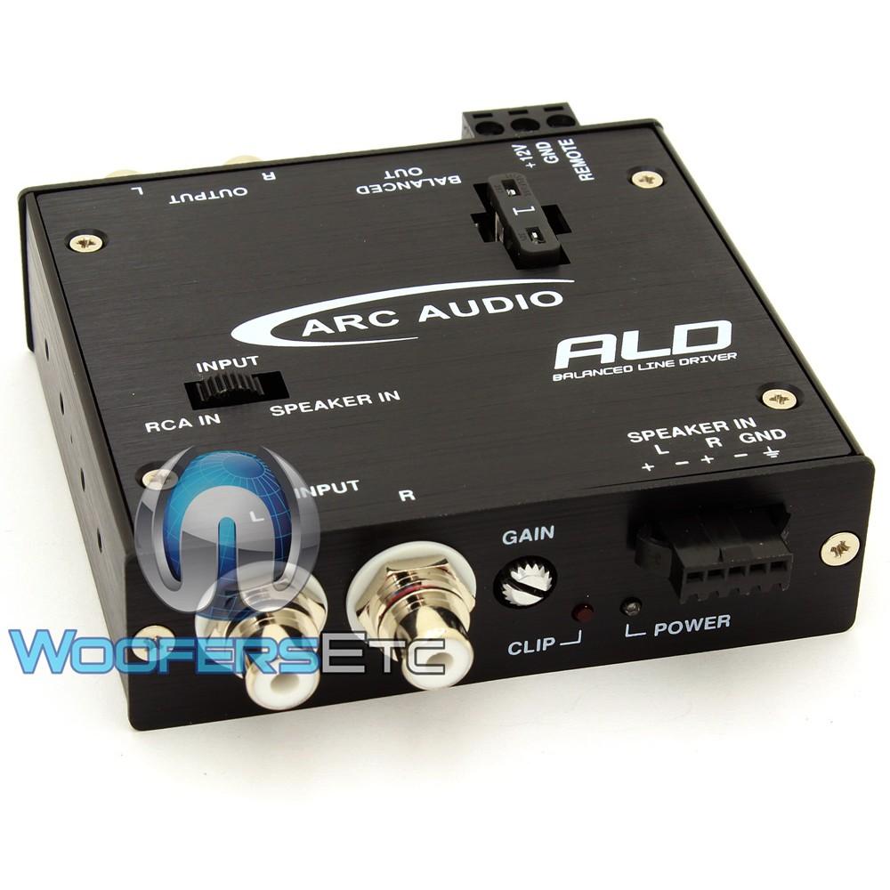 ALD - ARC Audio Selectable RCA / Balance Line Driver
