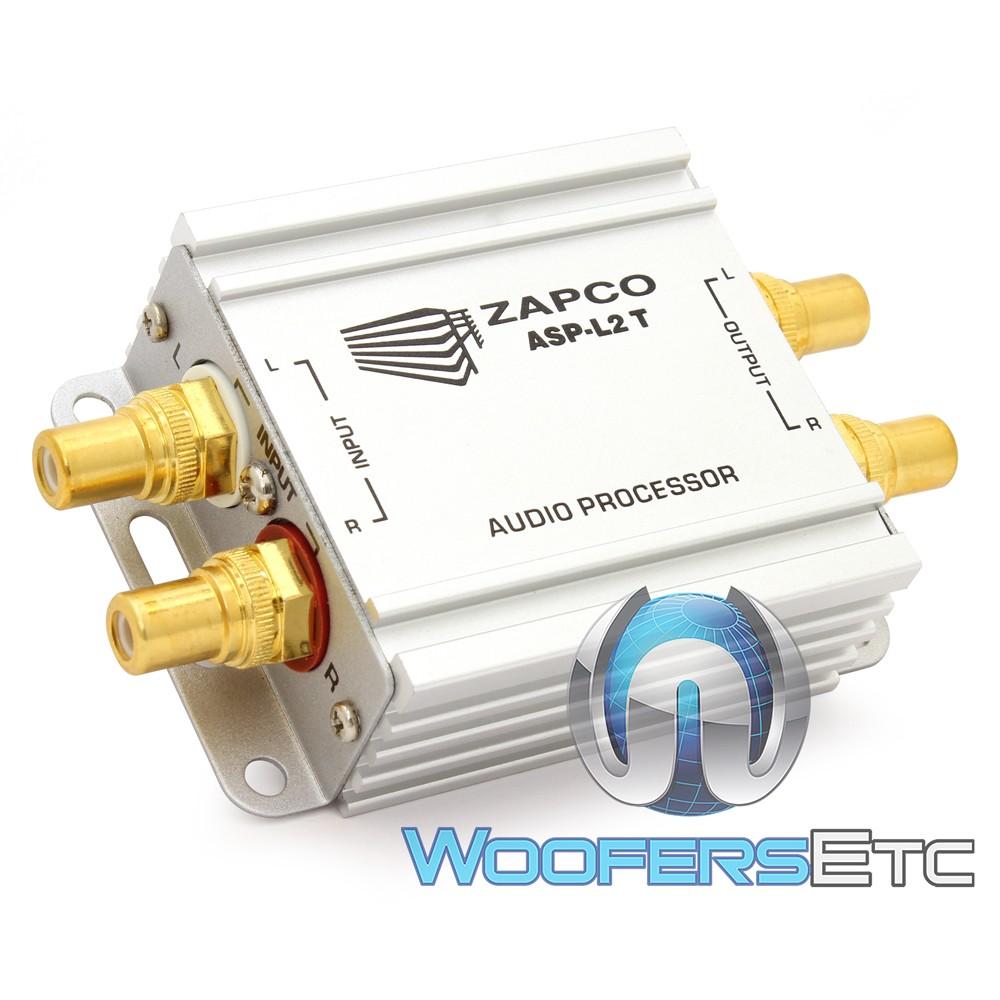 Zapco ASP-L2T 2-Channel Line Noise Filter