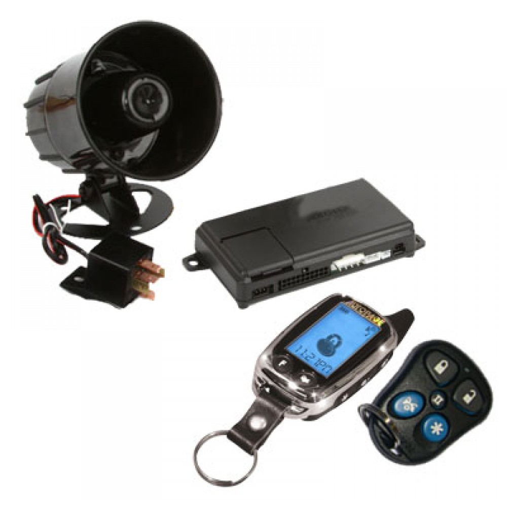 Audiovox Remote Car Starter And Keyless Entry System 1500ft