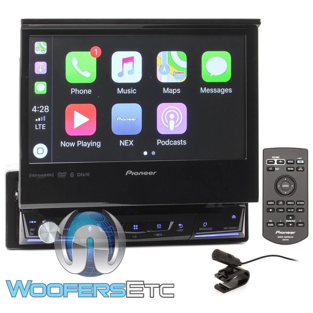 "Pioneer AVH-3500NEX In-Dash 1-DIN 7"" Motorized Flip Touchscreen DVD Receiver with Bluetooth"