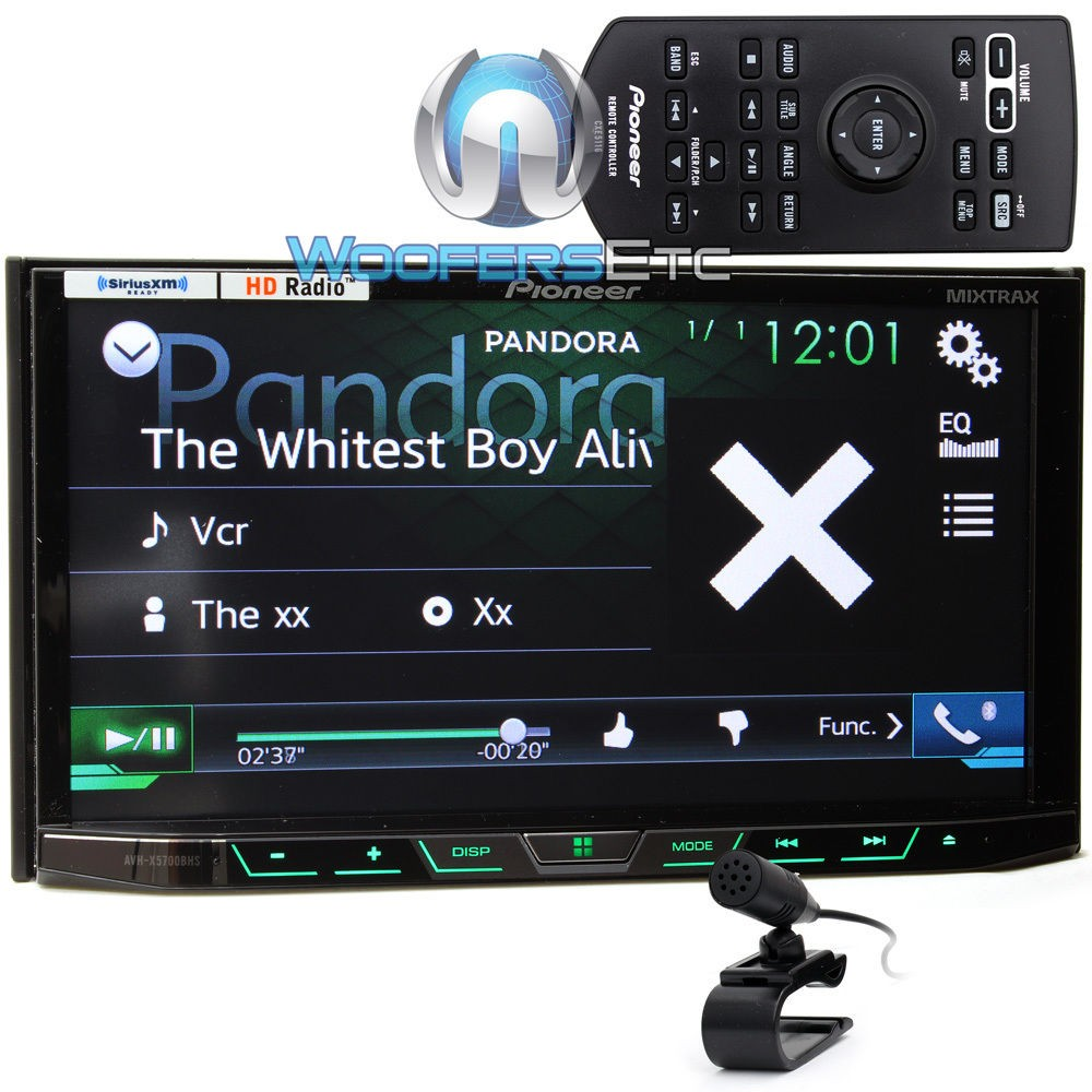 avh x5700bhs pioneer 2 din in dash 7 touchscreen lcd display dvd cd stereo receiver with. Black Bedroom Furniture Sets. Home Design Ideas