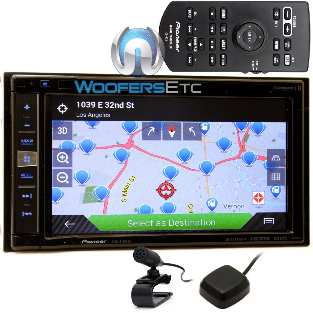 Gps Navigation System Product : Avic nex pioneer in dash quot lcd touchscreen