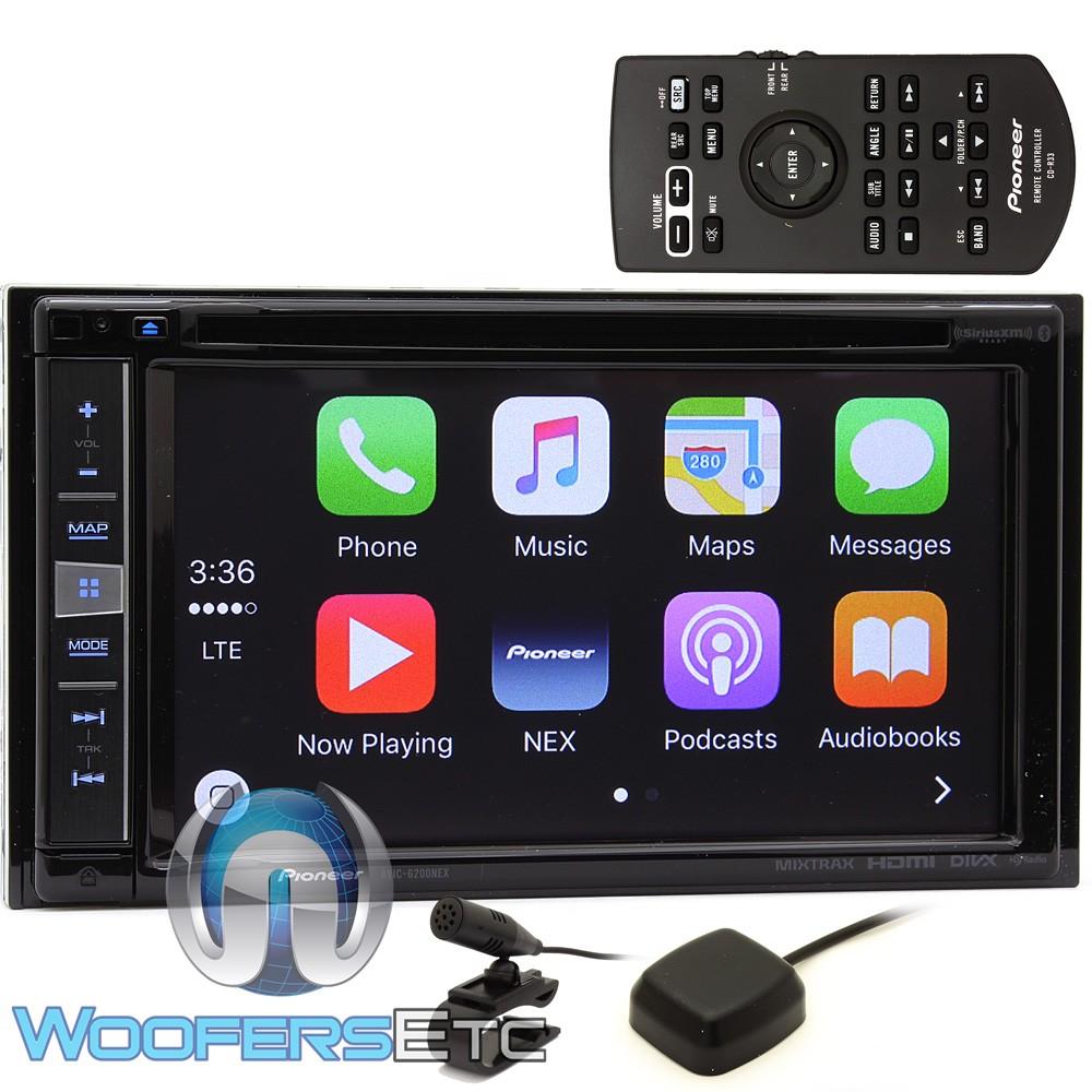 "Pioneer In-Dash 2-DIN 6.2"" WVGA Touchscreen"