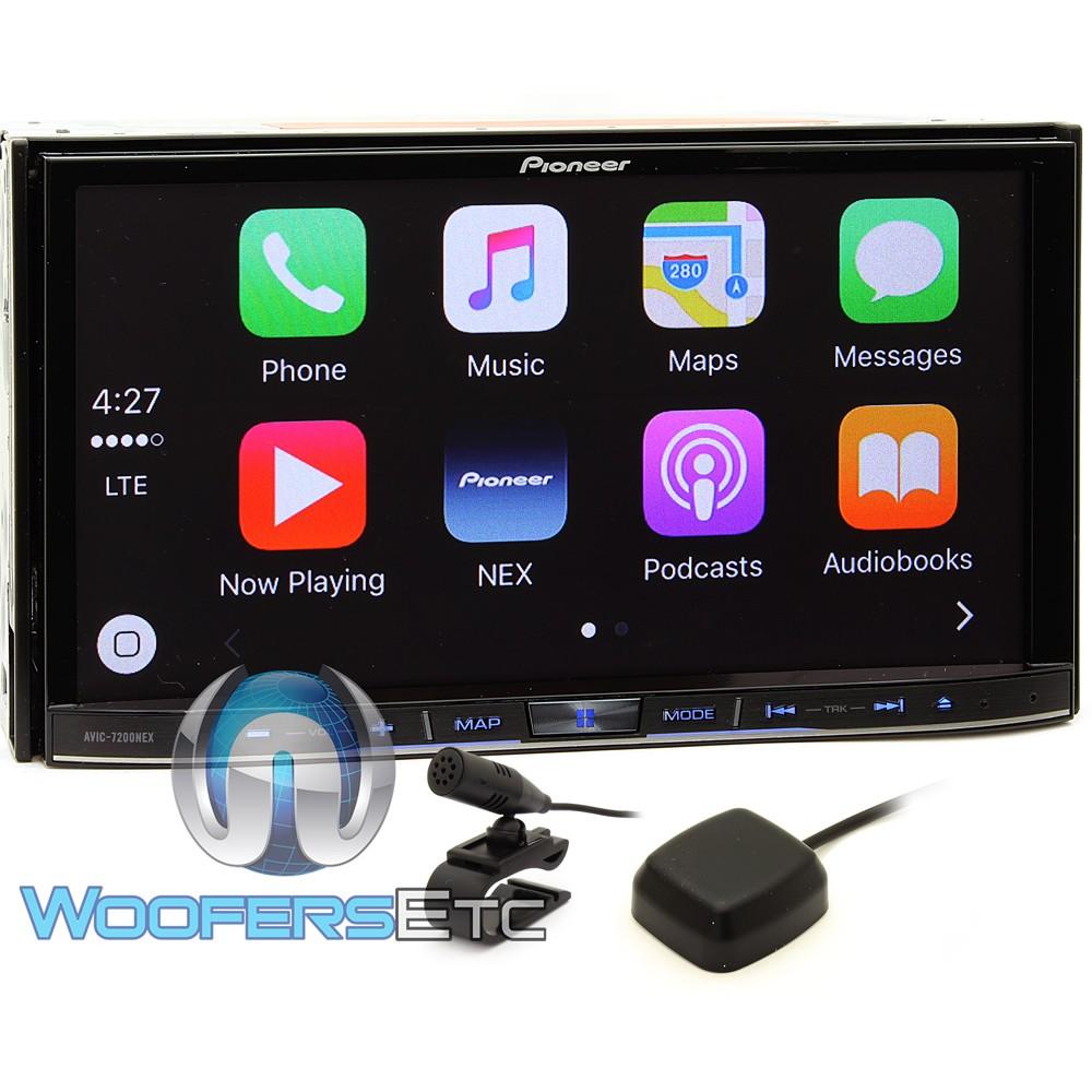 "Pioneer In-Dash 2-DIN 7"" WVGA Touchscreen"