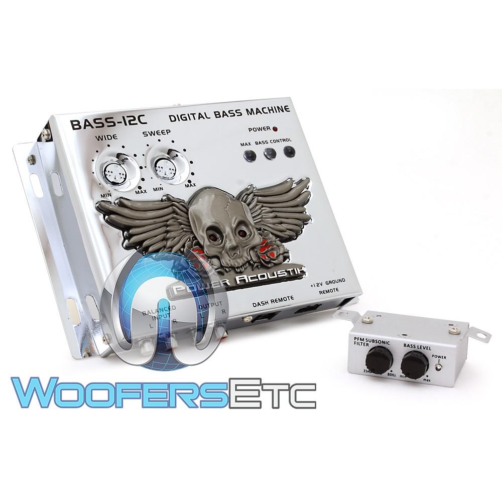 Power Acoustik BASS-12C Digital Bass Enhancing Reconstruction Processor