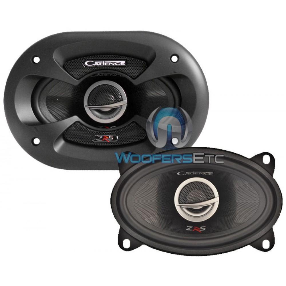 "ZRS46 - Cadence 4"" x 6"" 275W 2-Way ZRS Series Coaxial Speakers"