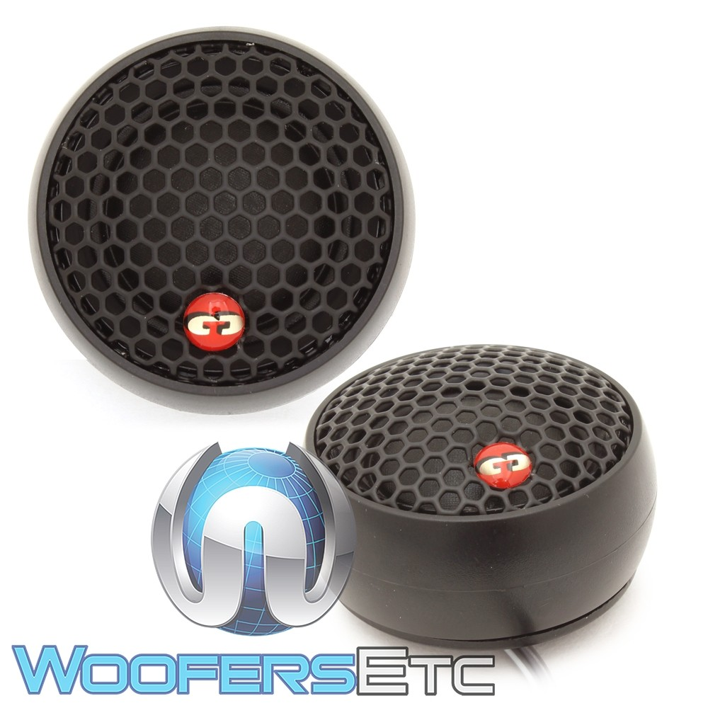"CDT Audio TW-26 1.1"" Soft Dome Tweeters with Ferro Fluid Cooling"