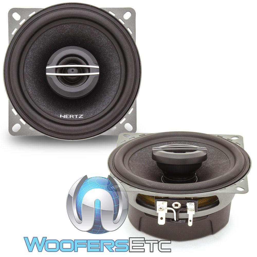 "Hertz CX100 4"" 40W RMS 2-Way Cento Series Coaxial Speakers"
