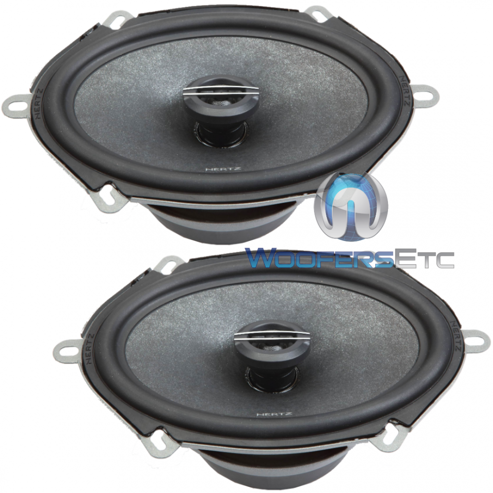 "CX570 - Hertz 5x7"" 2-Way Coaxial Speakers"