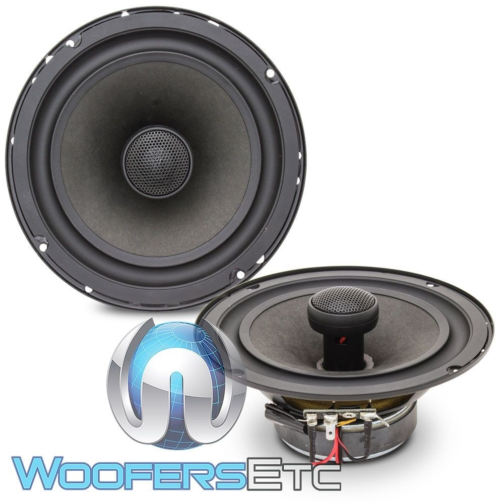 """DC Audio DC61-2 6.5"""" 80W RMS 2-Way Convertible Coaxial Speakers"""