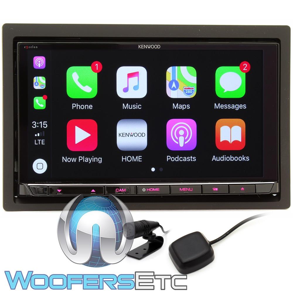 kenwood excelon ddx9905s in dash 2 din touchscreen. Black Bedroom Furniture Sets. Home Design Ideas