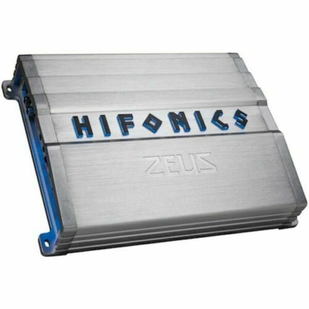 Hifonics ZG-1200.4D 4 Channel 1200W RMS Class A/B Zeus Gamma ZG Series Amplifier