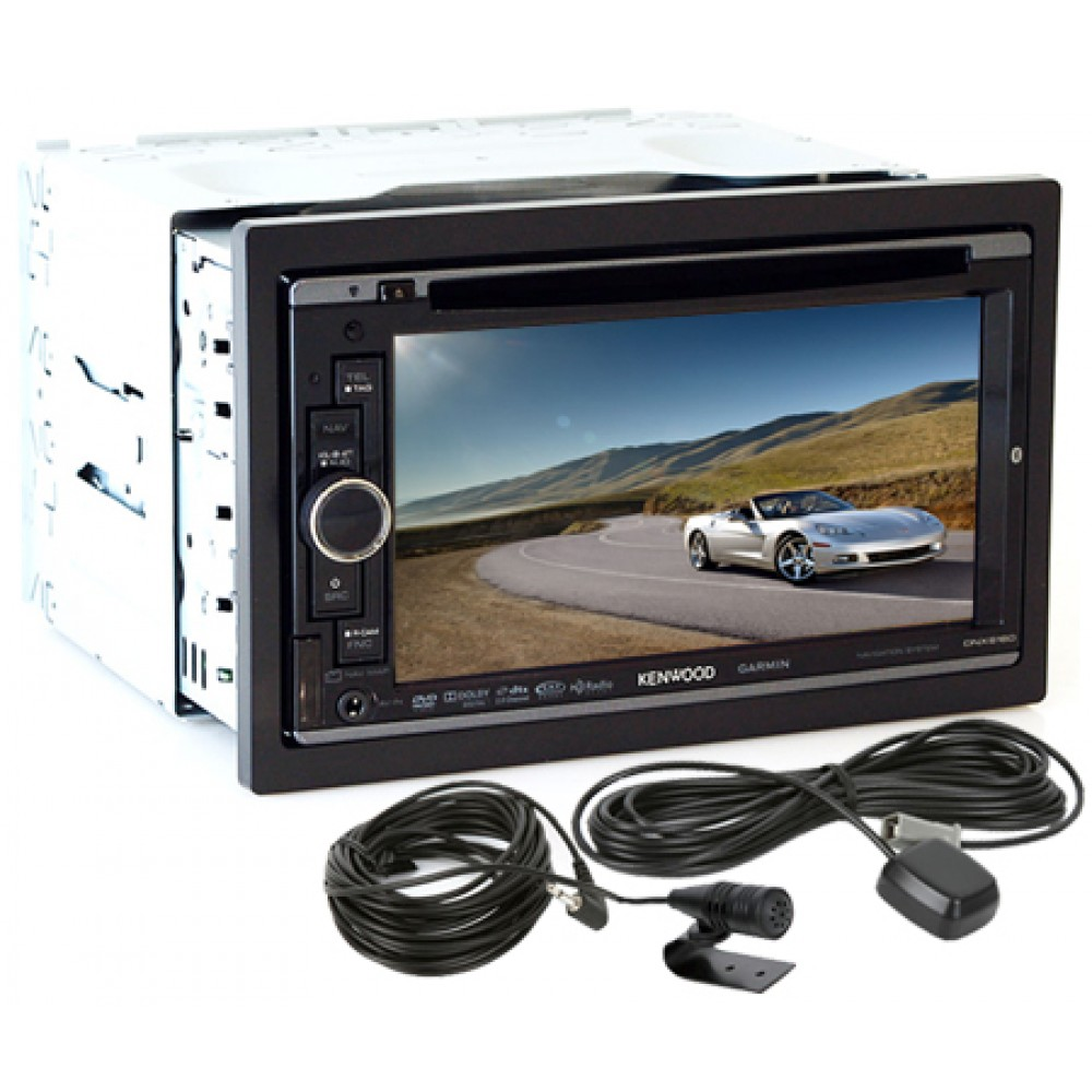 Dnx6160 Kenwood 2 Din 61 Dvd Receiver Tft Lcd Monitor W Gps Clarion Marine Stereo Radio Wiring Diagram In Addition Boss Car Audio Navigation Bluetooth Usb