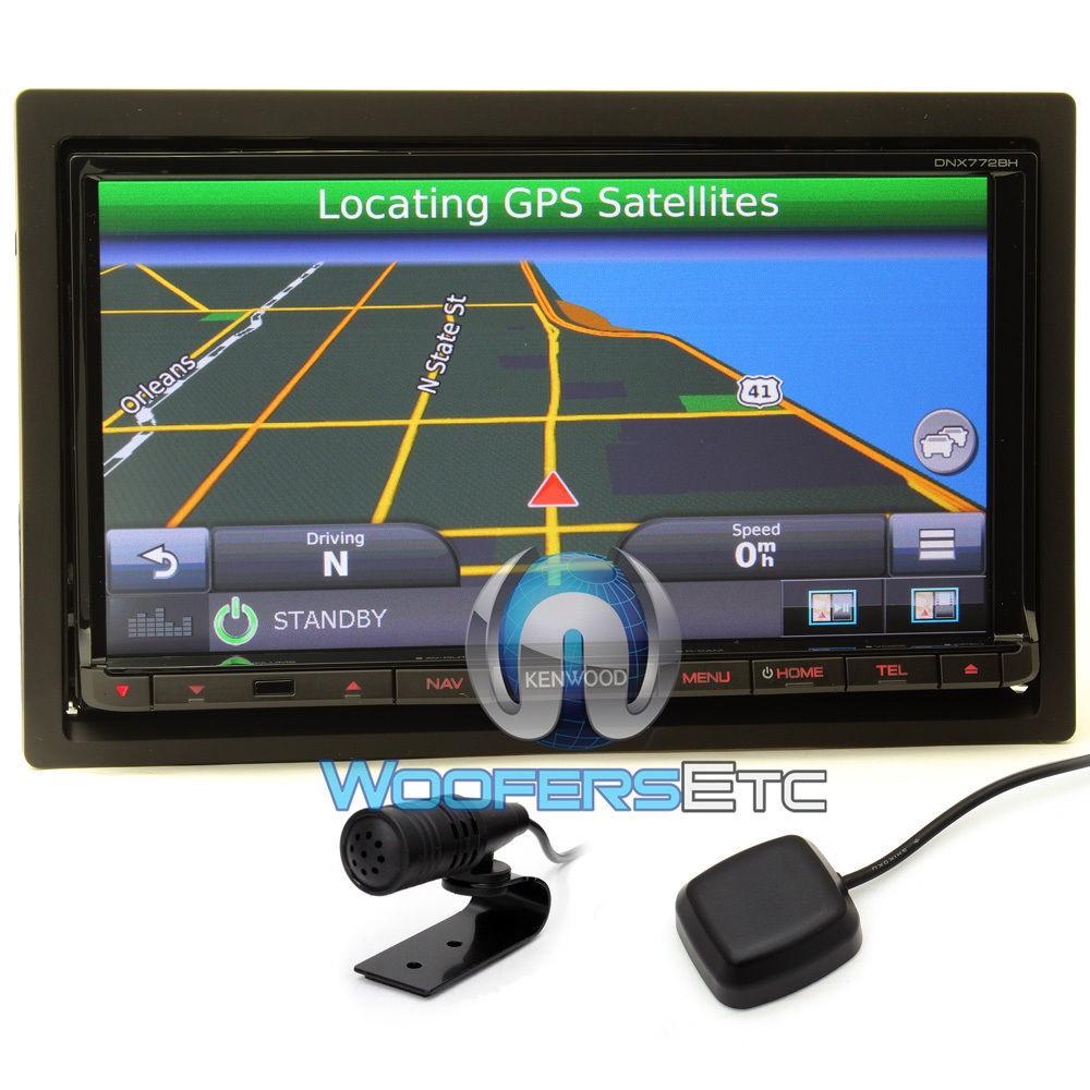 In Dash Navigation System : Dnx bh kenwood in dash din quot touchscreen dvd