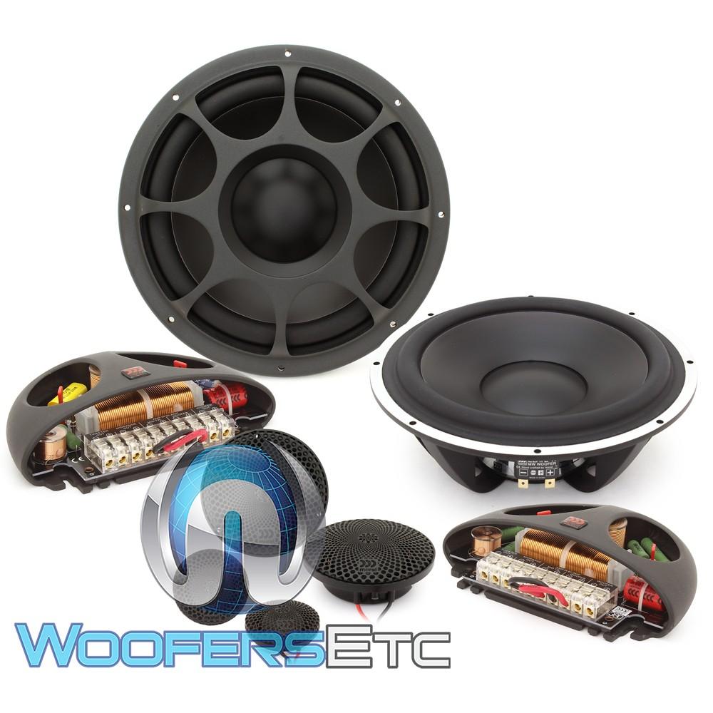 "Morel Elate Titanium 903 8.75"" 200W RMS 3-Way Component Speakers System"
