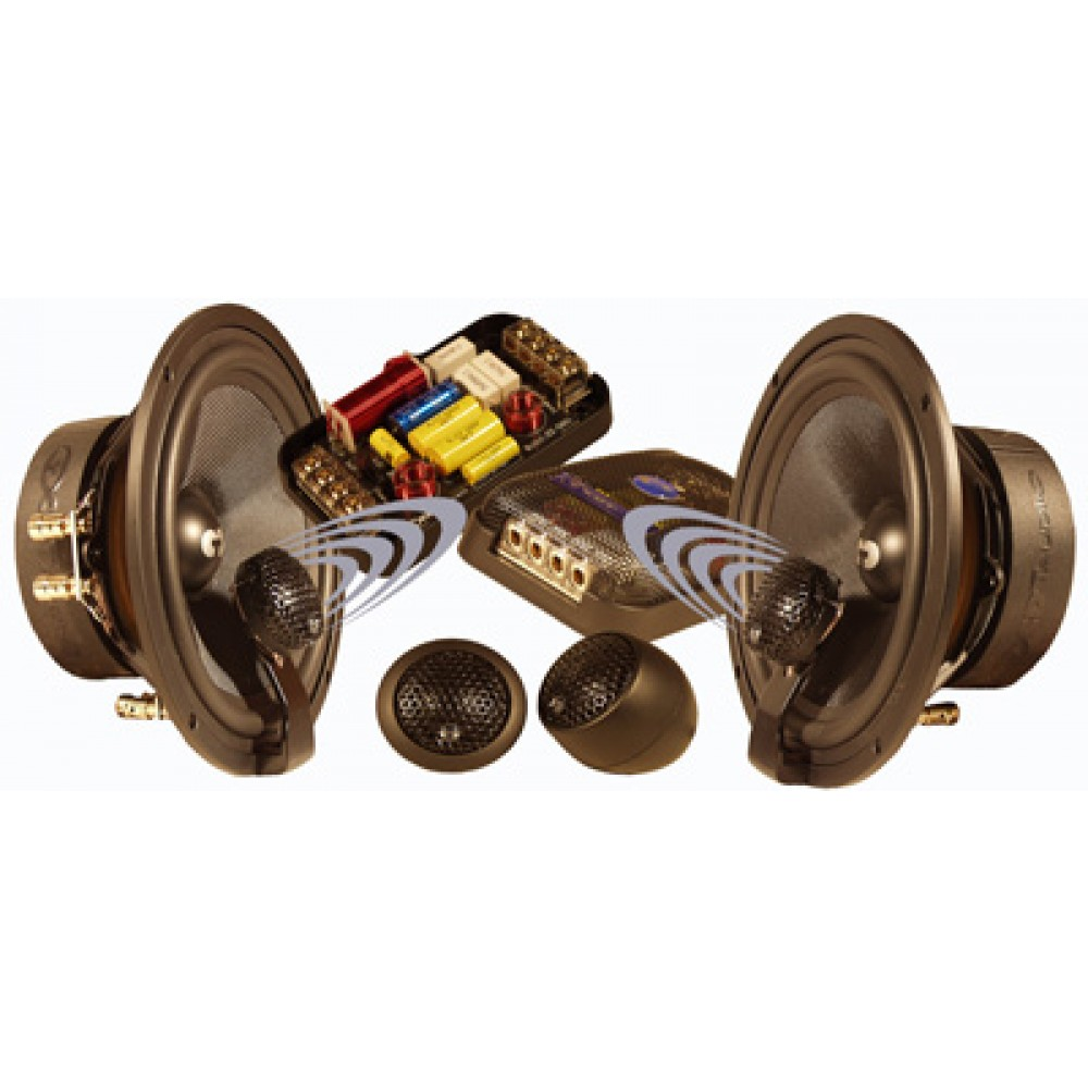"ES-63i - CDT Audio 6.5"" 2-Way Braxial Coaxial Speakers"