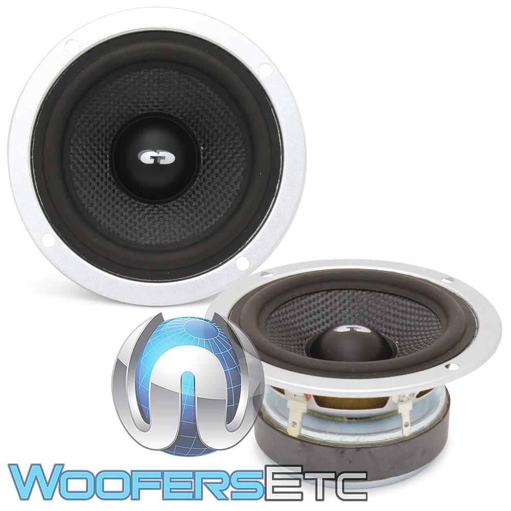 """CDT Audio ES-CRM-3K 3"""" 100W RMS ES Chrome Series Midrange Speakers"""