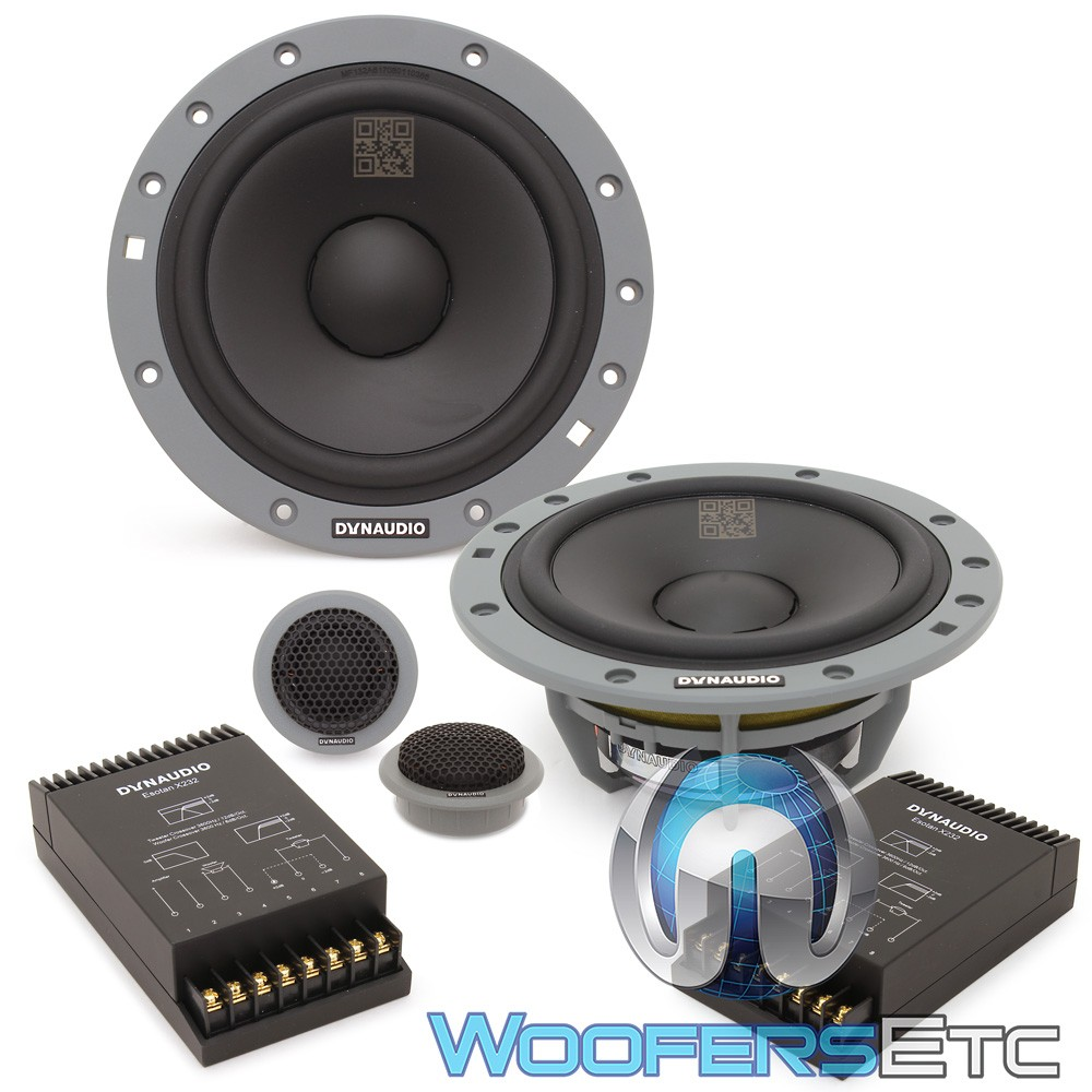"""Dynaudio ESOTAN 232 6.5"""" 70W RMS 2-Way Component Speakers System"""