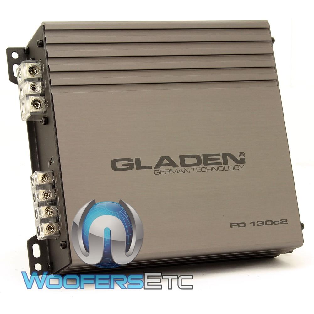 FD 130c2 - Gladen 2-Channel 400W RMS Full Range Class D Amplifier