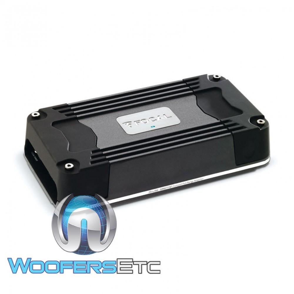 Focal FD4.350 4-Channel 400W RMS Full Range Class D Amplifier