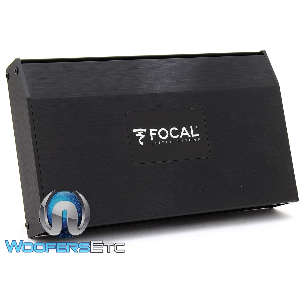 (Factory Refurbished) Focal FDP Sport 4-Channel 700W RMS Motorcycle and All-Terrain Amplifier