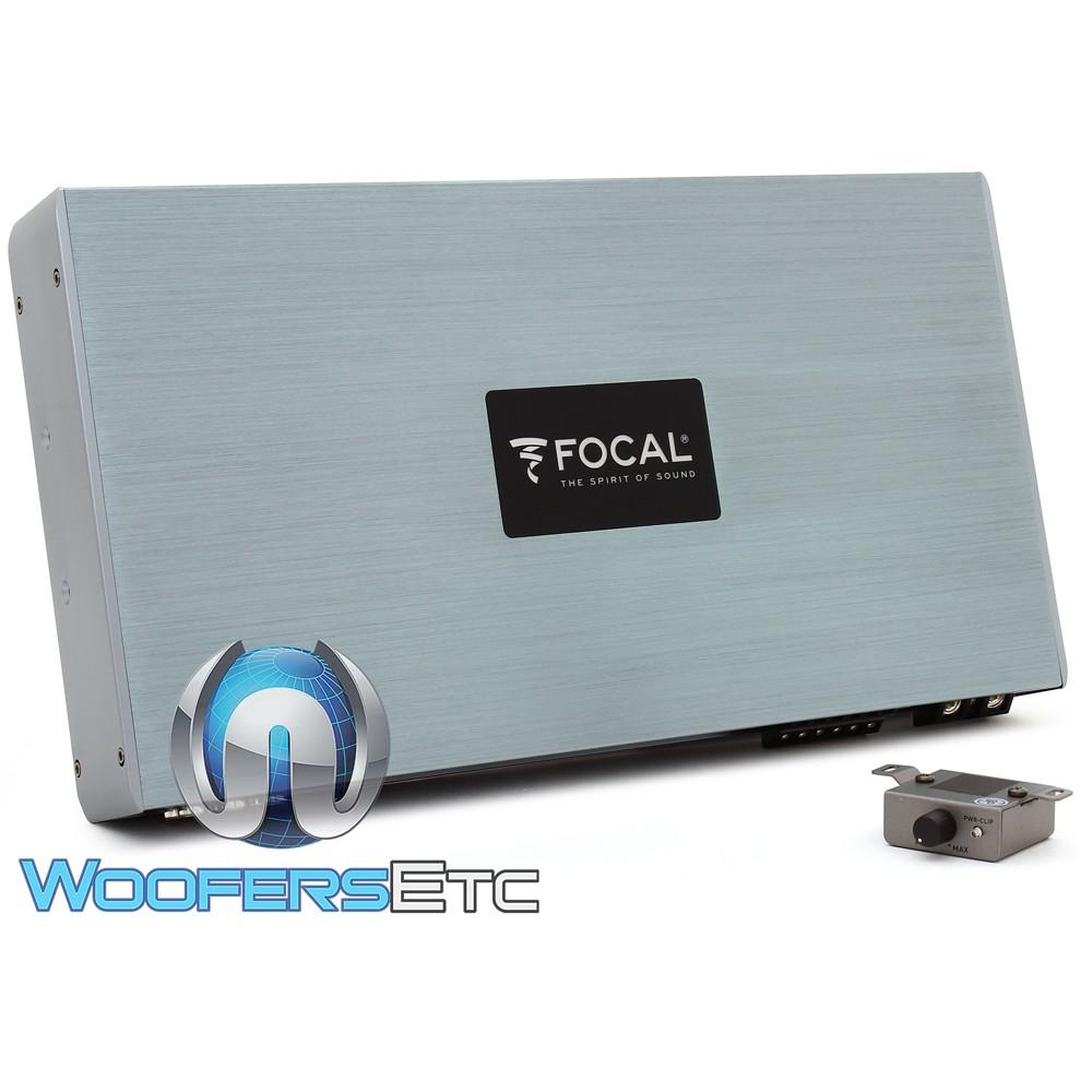 Focal FDP-6.900 6-Channel 900W RMS Full Range Class D Amplifier