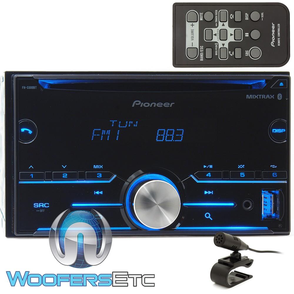 pioneer fh sbt  dash  din cdmp car stereo receiver  bluetooth